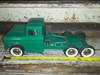 VINTAGE 60' STRUCTO HYDRAULIC SANITATION GARBAGE TRUCK PRESSED STEEL(TRUCK ONLY)