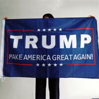 Trump 2020 President Donald trump Make America Great 3x5 Ft Flag CN