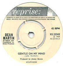 """Dean Martin – Gentle On My Mind   7"""" Vinyl 45rpm"""