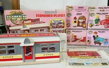Tyco Dixie's Diner Deluxe Furnished Playset Complete With Boxes
