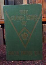 GOLDEN YEARS OF DELTA THETA TAU by Imogene Jones Sorority History SIGNED ca 1968