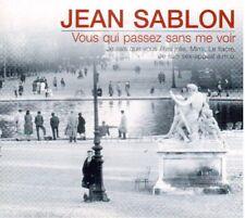 Jean Sablon: Vous Qui Passez Sans Me Voir - CD