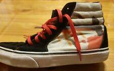 Limited Run Metallica Vault Hi Top Vans Shoes Sz 8.5 Sk8 Punk Death Metal Rock