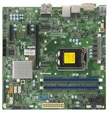 Supermicro X11SSQ-L Embedded Intel H110 Chipset microATX Motherboard