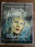 Ruth Rendell Road Rage   read by Christopher Ravenscroft   2 cassette audio book