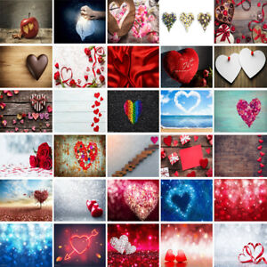 Valentine's Day Backdrop Party Birthday Photography Background Studio Props