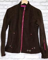 Ariat International Women's Size Medium Full Zip Long Sleeve Brown Jacket 3669