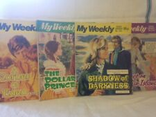 4 x Vintage My  Weekly Story Library 284 285 246 345