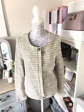 Next Wedding Jacket Cream Beige Size 8 Special Occasion