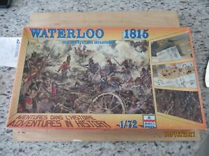 """Esci #P-502 Waterloo 1815 """"The Infantry"""" Diorama 337 Pieces 1/72 Scale unpainted"""