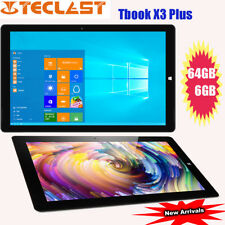 "11.6"" Teclast Tbook X3 Plus Win10 Apollo 6+64GB 1920×1080 BT Tablet PC OTG IT"