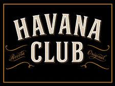 "Havana Club, Retro metal Sign/Plaque, Gift 10"" x 8"" Large"