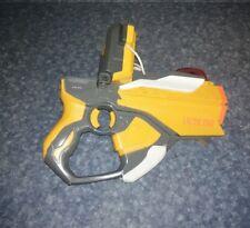 Laser Tag Gun Hasbro iPhone iTouch Dock White Orange Gray