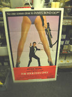 JAMES BOND-FOR YOUR EYES ONLY- INTERNATIONAL ONE SHEET MOVIE POSTER - 8.5