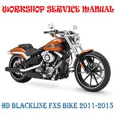 HD BLACKLINE FXS BIKE 2011-2015 WORKSHOP SERVICE REPAIR MANUAL (DIGITAL e-COPY)