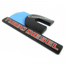 1x OEM Dodge Cummins Turbo Diesel RAM 2500 3500 Fender Emblem F1u Genuine Black