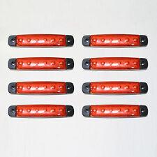 NUOVO 8 x 24V LED luci di posizione laterali frecce per Daf Man Iveco Scania