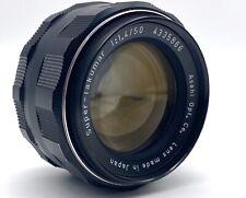 Super-Takumar 50mm f/1.4 M42 Lens w/case; Free Shipping