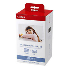 Canon KP-108IN Color Ink / Paper Set 108 Sheets For SELPHY Compact Photo Printer