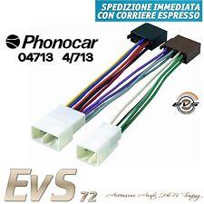 Phonocar 4/713 Cavo Connettore Adattatore Autoradio ISO Daihatsu Terios Materia