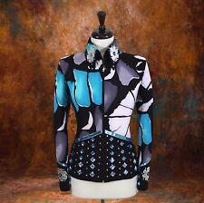 X-LARGE  Showmanship Pleasure Horsemanship Show Jacket Shirt Rodeo Queen Rail