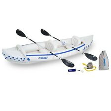 Sea Eagle Boats SE370K-D SE370 Sport Kayak Deluxe Package New