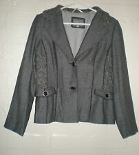 Per Una Button Wool Blend Casual Coats & Jackets for Women