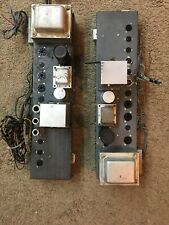 Pair of Vintage Hammond H-Ao-29-7 Tube Amp Guitar Amplifier