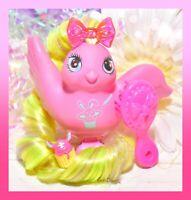 ❤️Vtg 1987 Fairy Tails Bird Tricky Tails My Little Pony Friend Pink Magic Hat❤️