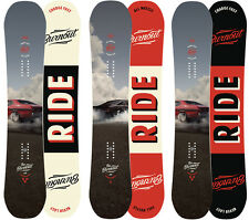 Ride Snowboards - Burnout All-Mountain Freestyle with Hybrid Camber - 2016
