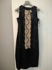 Dolce Gabbana Party Dress Black Sequined Size 12 UK worn once!