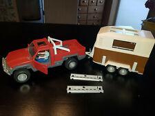 Schleich Pick Up Jeep 42090 mit Fahrer und Pferdeanhänger 42091 Horse Club TOP