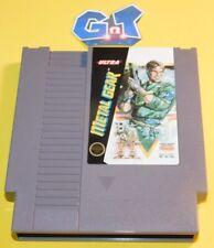 METAL GEAR Nintendo NES Game Cartridge: Cleaned/ Tested