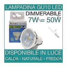 LAMPADINE LED V-Tac GU10 3W a 9W Lampada  Spot Porta Faretto Incasso Dimmerabile