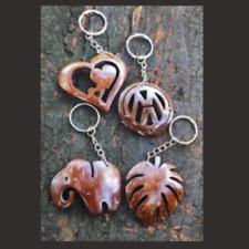 wooden fashion vehicle key chain key tag bicycle key ring men women gift