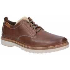 Hush Puppies BERNARD CONVERTIBLE OXFORD Mens Casual Lace Up Suede Shoes Brown