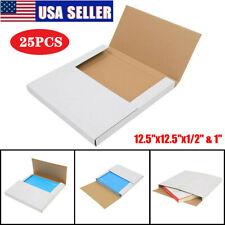25pcs Premium Lp Record Album Book Box Catalog Mailers Boxes Variable Depth Us