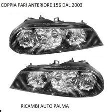 COPPIA FARI PROIETTORI ANTERIORE DX-SX ALFA ROMEO 156 03 2 SERIE DAL 2003 IN POI