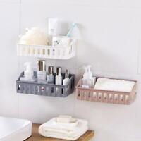 Bathroom Kitchen Shelf Suction Cup Rack Organizer Storage NW Basket Shower K9S2
