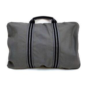 Hermes Tote Bag  Grays Canvas 1428872
