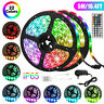 Waterproof 5M 16.4ft 300 LED RGB 3528 SMD Strip Light Flexible 12V+Remote+Power