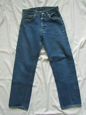 Vtg 70s Levi's 501 Redline Selvedge Denim Jeans #6 Button Measure 26x27.5 Womens
