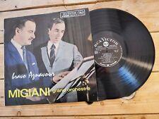 MIGIANI GRAND ORCHESTRE AZNAVOUR LP 33T VINYLE EX COVER EX ORIGINAL 1963