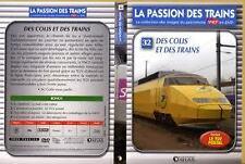 15521 // COLLECTION DVD TBE LA PASSION DES TRAINS VOL 32 DES COLIS ET DES TRAINS