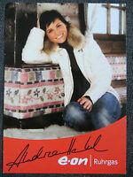 Handsignierte AK Autogrammkarte *ANDREA HENKEL* Olympia Sotschi 2014 Biathlon #2