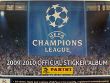 UEFA CHAMPIONS LEAGUE 2009-2010 FULL SET OF STICKERS X564