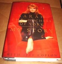 Sarah The Duchess Of York My Story Fergie Book 1996