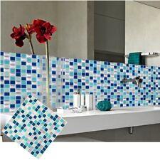 Mosaic Self Adhesive Wall Tile Sticker Vinyl Bathroom Kitchen Home Decor DIY W1