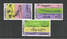 Australia 1971 Congresso di orientalists SG, 483-485 U/MM N/H LOTTO 2977a