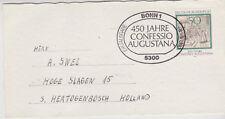 Germany BRD Bundespost 1980 MI 1051 auf briefkarte Erstausgabe-Stempel Bonn